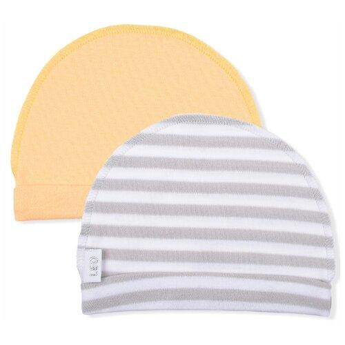 Купить Шапка LEO размер 40, желтый/серый, Головные уборы