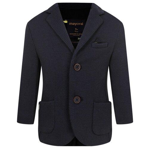 Фото - Пиджак Mayoral размер 74, синий свитер mayoral размер 74 синий