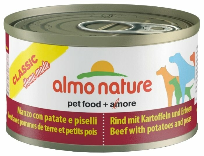Корм для собак Almo Nature Classic Home Made говядина с картофелем, с горошком