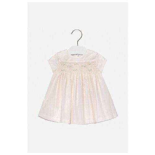 Купить Платье Mayoral размер 80, бежевый, Платья и юбки