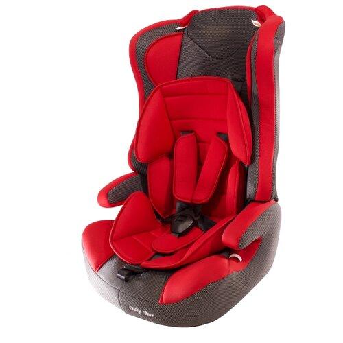 Купить Автокресло группа 1/2/3 (9-36 кг) Мишутка LB 513RF, 17 red/black dot, Автокресла