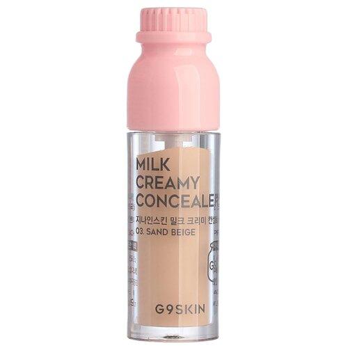 G9SKIN Консилер Milk Creamy Concealer, оттенок 03 sand beige g9skin консилер milk creamy concealer оттенок 01 light beige