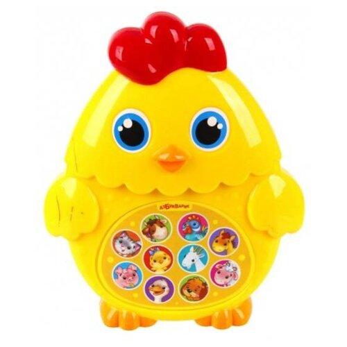 Купить Интерактивная развивающая игрушка Азбукварик Зверята-малышата. Цыплёнок желтый, Развивающие игрушки