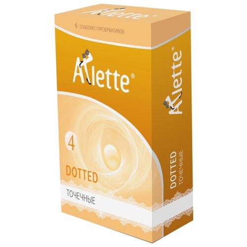 Презервативы Arlette Dotted (6 шт.) dotted self tie wide leg jumpsuit