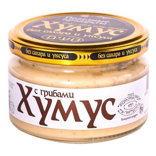 Полезные Продукты Хумус с грибами, 200 г