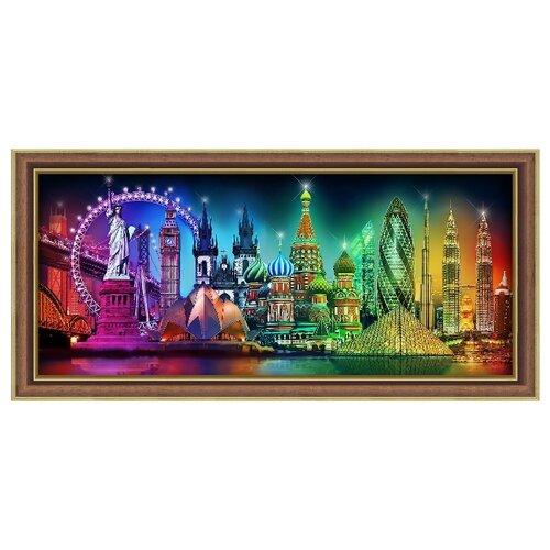 Купить Алмазная живопись Набор алмазной вышивки Краски мира (АЖ-1735) 70х30, Алмазная вышивка