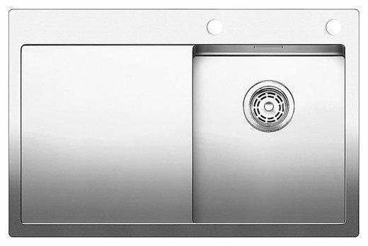 Интегрированная кухонная мойка Blanco Claron 4S-IF/А 78х51см нержавеющая сталь