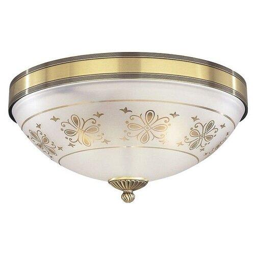 Фото - Люстра Reccagni Angelo PL 6002/3, E27, 180 Вт, кол-во ламп: 3 шт., цвет арматуры: бронзовый, цвет плафона: бесцветный люстра reccagni angelo pl 2720 3 180 вт