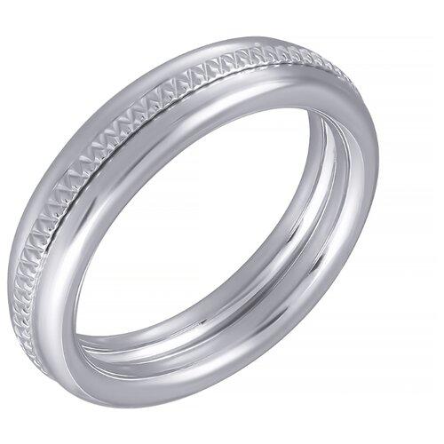 ELEMENT47 Кольцо из серебра 925 пробы MTR234X_KO_WG, размер 17.5