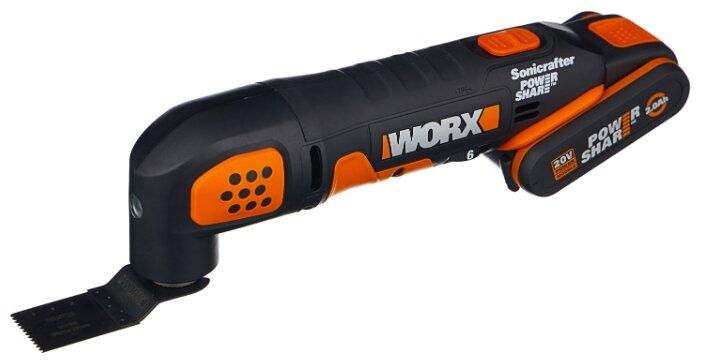 Реноватор Worx WX682 2.0Ач х1 сумка