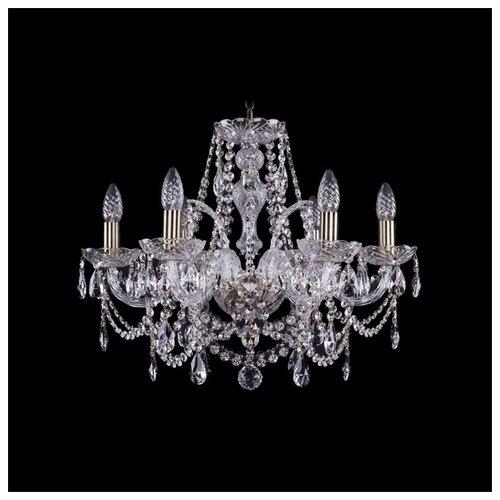 Фото - Люстра Bohemia Ivele Crystal 1411 1411/6/195/Pa, E14, 240 Вт люстра bohemia ivele crystal 1411 1411 6 141 g e14 240 вт