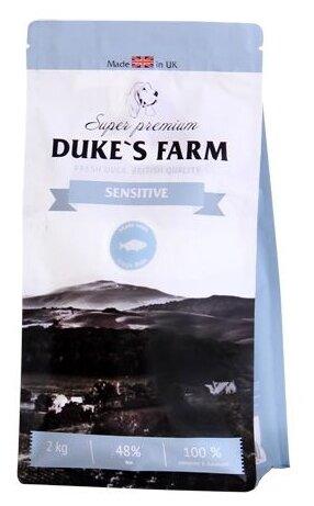 Корм для собак DUKE'S FARM лосось