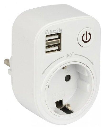 Розетка EKF USB SB-01 PROxima 16 А