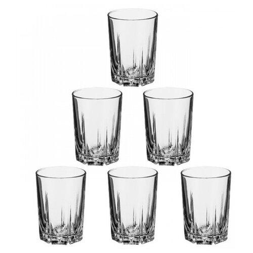 Pasabahce Набор стаканов Karat 250 мл 6 шт прозрачный