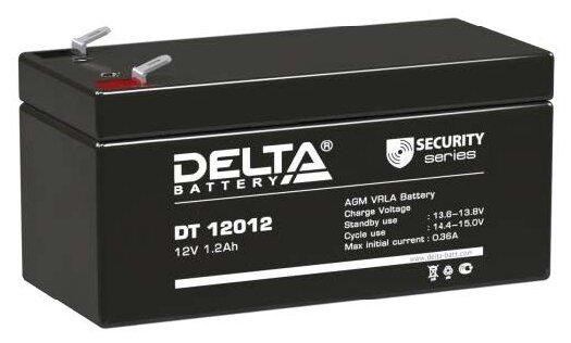 Аккумуляторная батарея DELTA Battery DT 12012 1.2 А·ч