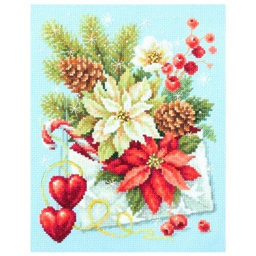 Купить Чудесная Игла Набор для вышивания С Рождеством! 17 х 22 см (100-241), Наборы для вышивания