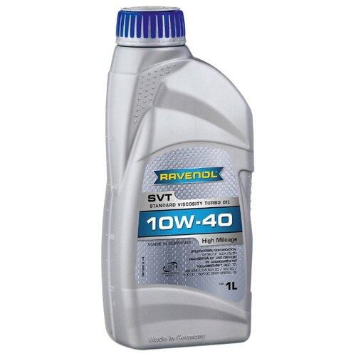 Моторное масло Ravenol SVT Stand Viscosity Turbo Oil SAE 10W-40 1 л моторное масло ravenol euro iv truck sae 10w 40 5 л