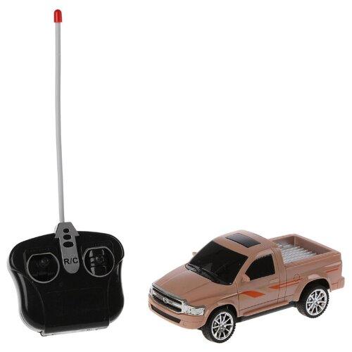 Купить Внедорожник Xiang Hui Toys 2435925 1:24 16.5 см коричневый, Радиоуправляемые игрушки