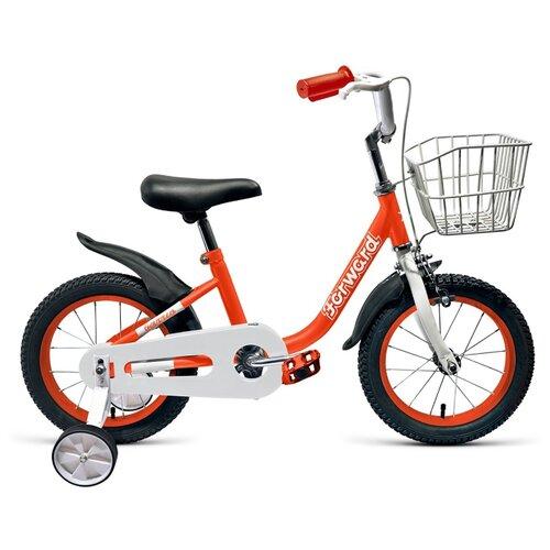 Детский велосипед FORWARD Barrio 14 (2019) красный (требует финальной сборки)