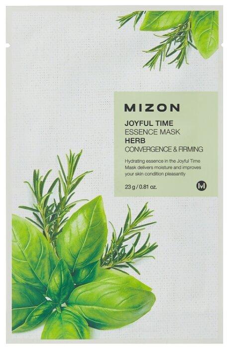 Mizon Joyful Time Essence Mask Herb тканевая маска с комплексом травяных экстрактов
