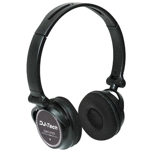 Фото - Наушники DJ-Tech Professional DJH555 black dj 6
