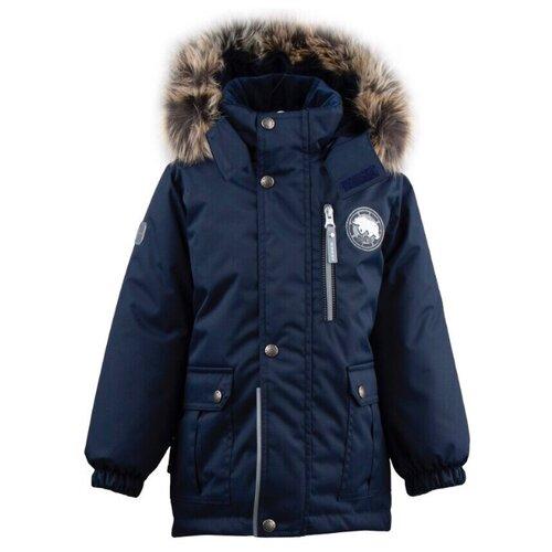 Купить Парка KERRY Snow K19441 размер 110, 229 темно-синий, Куртки и пуховики