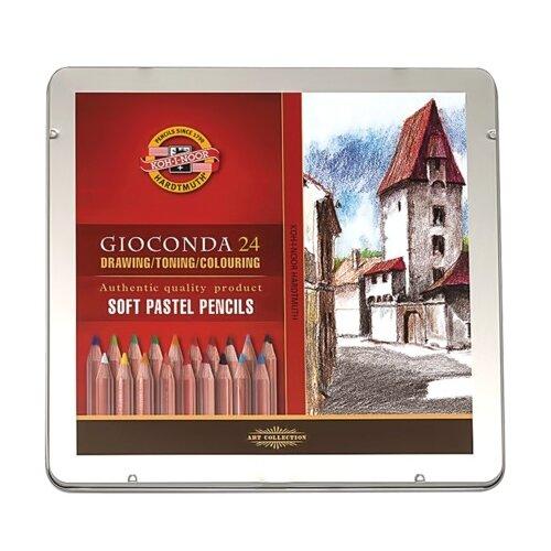 Купить KOH-I-NOOR Пастельные карандаши Gioconda, 24 цвета (8828024001), Цветные карандаши
