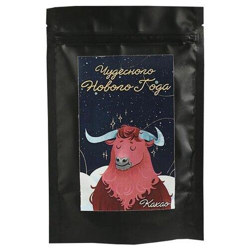НетНеСлипнется Подарочное какао Чудесного Нового Года (бык), пакет, 100 г