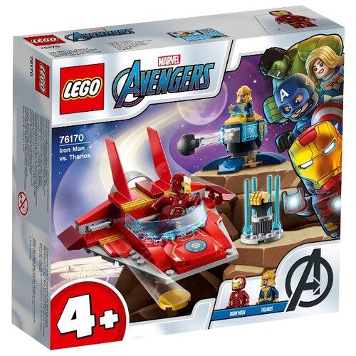 Конструктор LEGO Marvel Super Heroes 76170 Avengers Movie 4 Железный Человек против Таноса