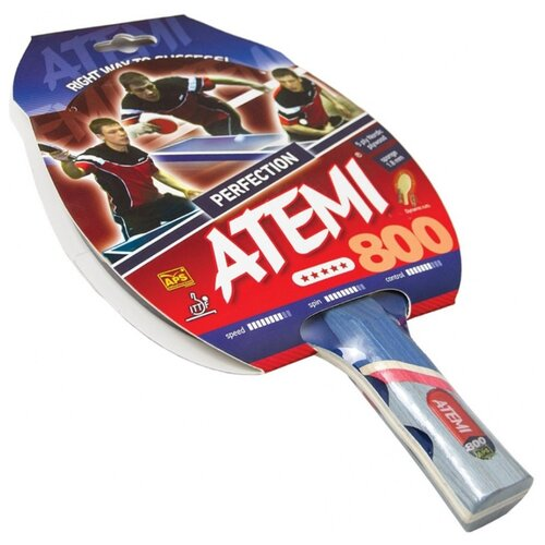 Ракетка для настольного тенниса ATEMI 800 AN ракетка для бадминтона atemi ba 400