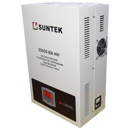 Стабилизатор напряжения однофазный SUNTEK 20000ВА-НН белый