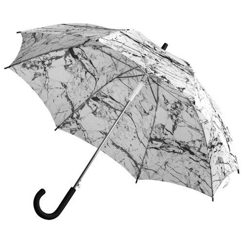 Фото - Зонт-трость полуавтомат Принтэссенция Marble мрамор зонт трость полуавтомат три слона 1100 бордовый