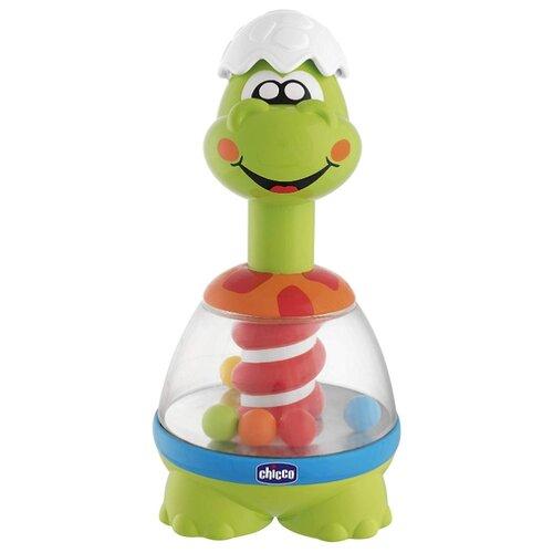 Юла-карусель Chicco Spin-Dino (09711) зеленый / синий игрушка chuc юла