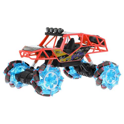 Купить Внедорожник Пламенный мотор Дрифт 4х4 (870460/870424) 26.5 см красный, Радиоуправляемые игрушки