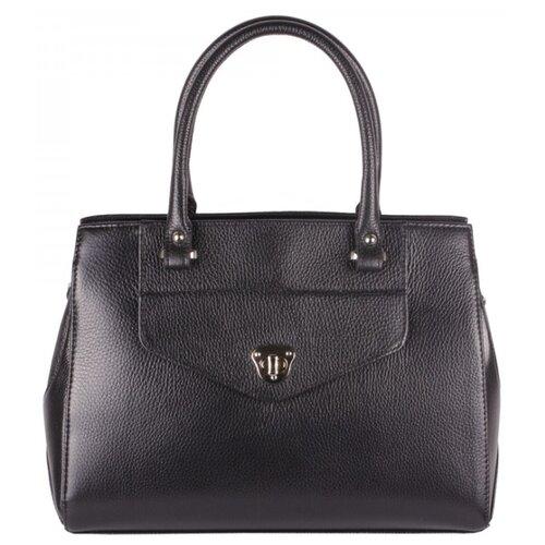 Сумка Afina 1102, натуральная кожа, черный сумка afina afina af004bwepfz7