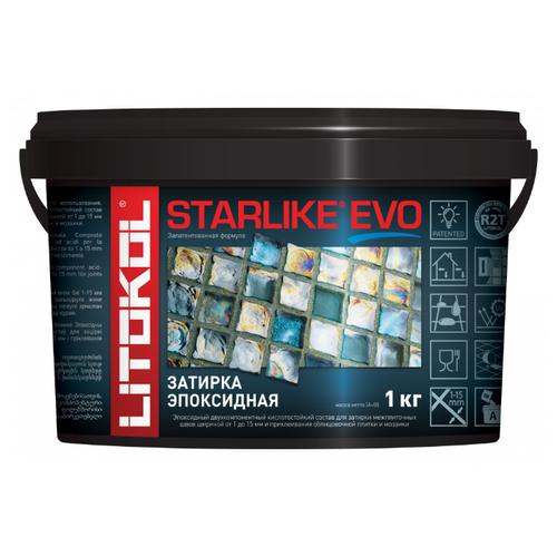 Эпоксидная затирочная смесь LITOKOL STARLIKE EVO S.125 GRIGIO CEMENTO, 1 кг