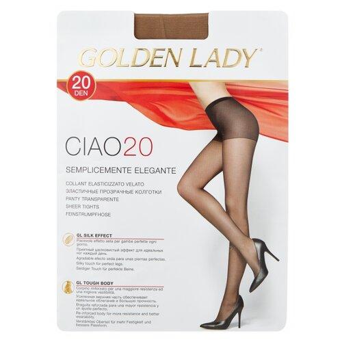цена Колготки Golden Lady Ciao 20 den, размер 4-L, melon (бежевый) онлайн в 2017 году