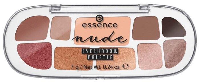 Essence Палетка теней Nude Eyeshadow palette