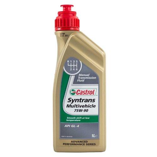 Трансмиссионное масло Castrol Syntrans Multivehicle 75W-90 1 л трансмиссионное масло castrol atf multivehicle 20 л