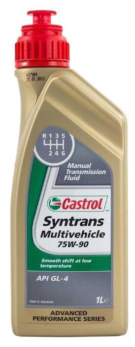 Трансмиссионное масло Castrol Syntrans Multivehicle 75W90 1л (154FA3)