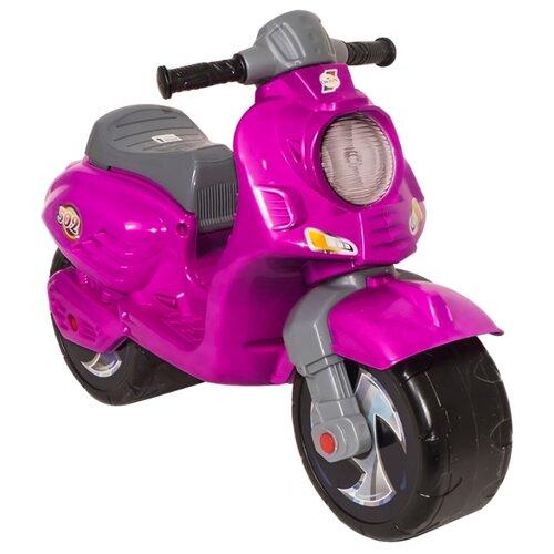 Каталка-толокар Orion Toys Скутер (502) розовый каталка толокар orion toys мотоцикл 2 х колесный 501 зеленый