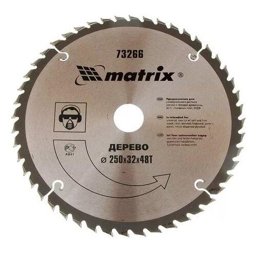 Пильный диск matrix Professional 73266 250х32 мм matrix professional 135559