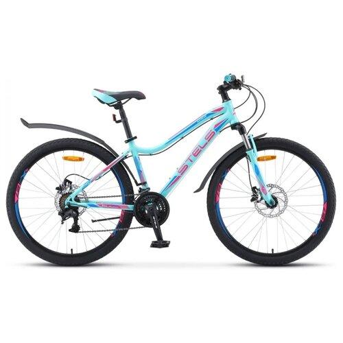 цена на Горный (MTB) велосипед STELS Miss 5000 D 26 V010 (2020) мятный 15 (требует финальной сборки)
