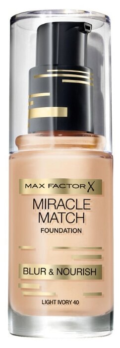 Max Factor Тональный крем Miracle Match, 30 мл — купить по выгодной цене на Яндекс.Маркете