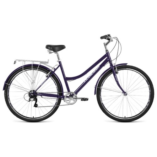 Фото - Городской велосипед FORWARD Talica 28 2.0 (2020) темно-синий 19 (требует финальной сборки) городской велосипед elops 520