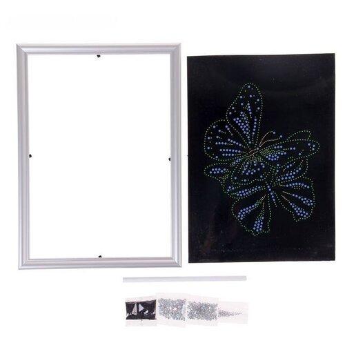 Купить Danko Toys Набор алмазной вышивки Diamond Art Бабочки DAR-01-04, Алмазная вышивка