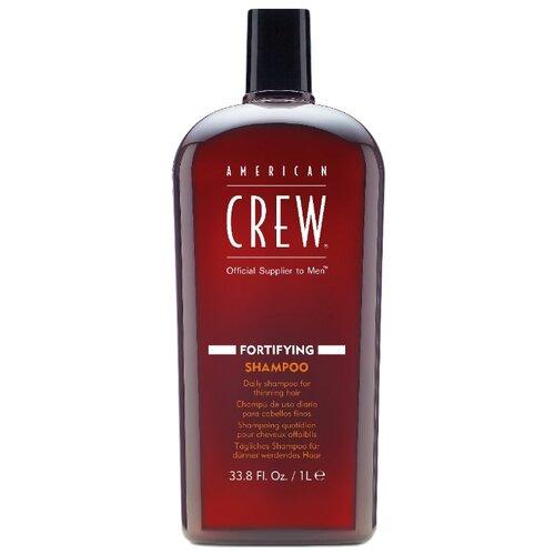 Фото - American Crew шампунь Fortifying для ежедневного ухода за тонкими волосами 1000 мл american crew шампунь для ежедневного ухода за волосами 450 мл american crew для тела и волос