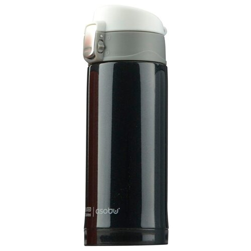 Термокружка asobu Mini diva (0.2 л) черный термокружка 0 38 л asobu sparkling mugs золотистая mug 550 gold