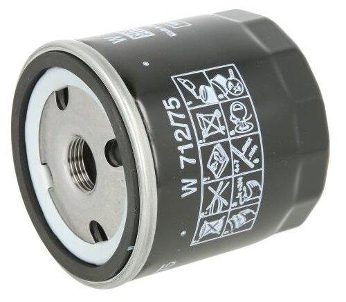 Масляный фильтр MANNFILTER W712/75