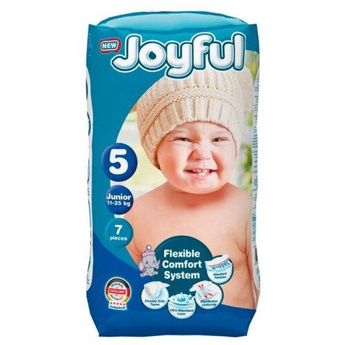 Купить Joyful подгузники 5 (11-25 кг) 7 шт., Подгузники